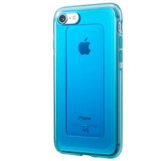 iPhone8/7 ケース GRAMAS COLORS GEMS ハイブリッドケース ターコイズブルー iPhone 8/7