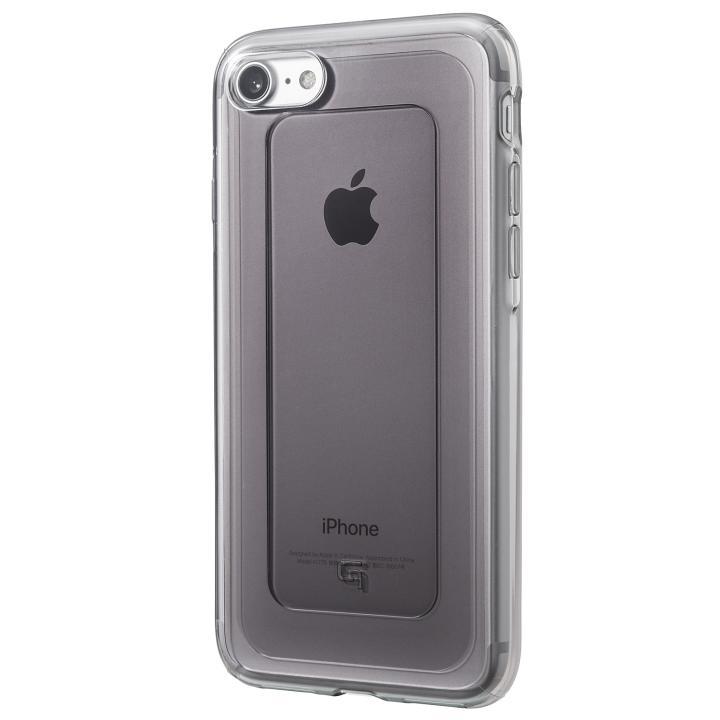 GRAMAS COLORS GEMS ハイブリッドケース オニキスブラック iPhone 8/7