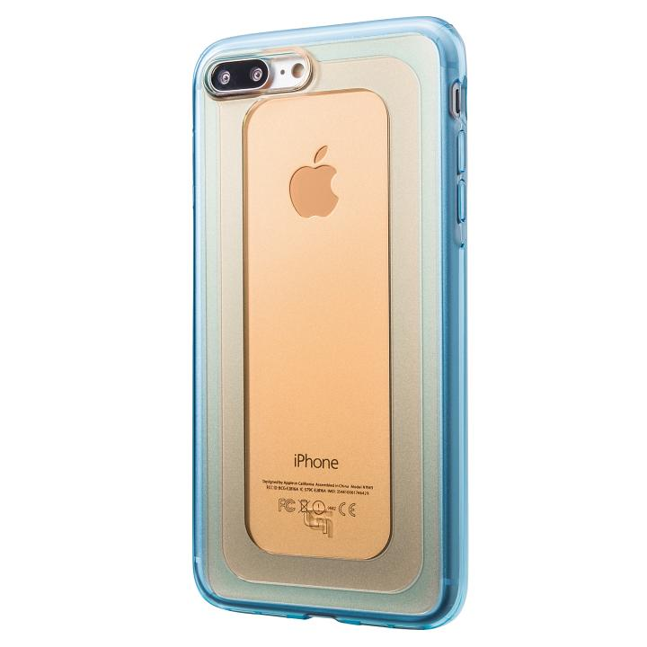 iPhone8 Plus/7 Plus ケース GRAMAS COLORS GEMS ハイブリッドケース ガーネット iPhone 8 Plus/7 Plus_0