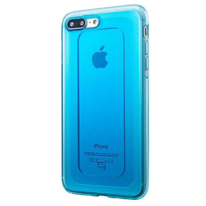 GRAMAS COLORS GEMS ハイブリッドケース ターコイズブルー iPhone 8 Plus/7 Plus