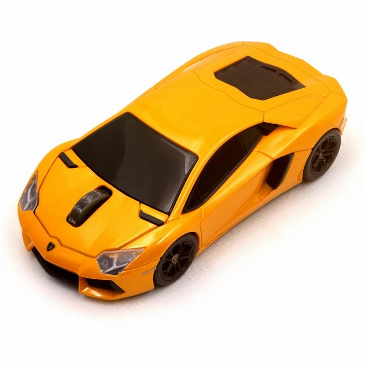 Lamborghini LP700 2.4G無線マウス 1750dpi オレンジ_0