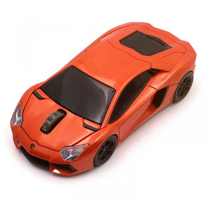 Lamborghini LP700 2.4G無線マウス 1750dpi レッド_0