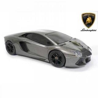Lamborghini LP700 2.4G無線マウス 1750dpi グレー