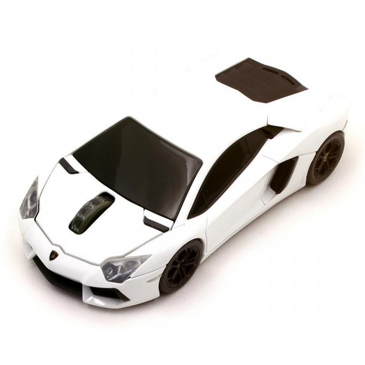 Lamborghini LP700 2.4G無線マウス 1750dpi ホワイト_0