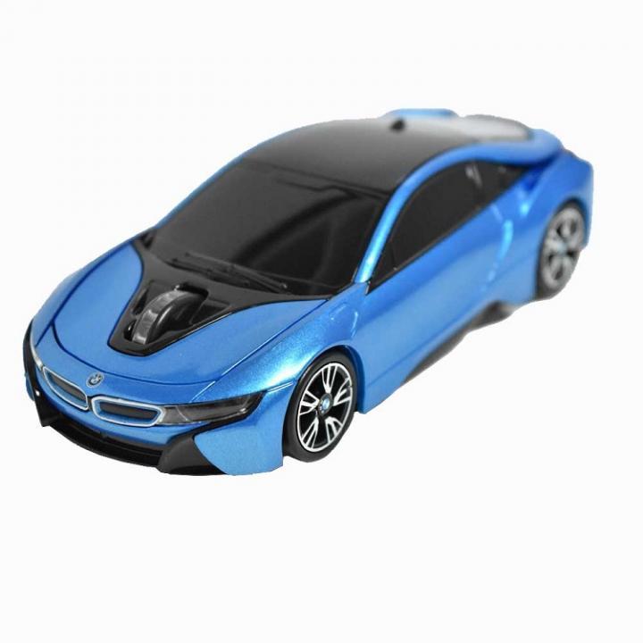 BMW i8シリーズ 無線カーマウス 2.4Ghz 1750dpi ブルー_0