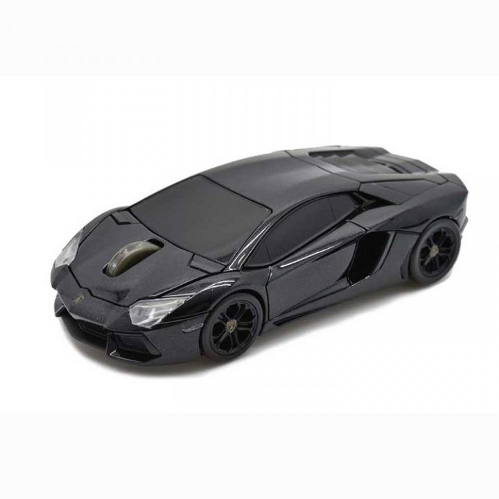 Lamborghini LP700 2.4G無線マウス 1750dpi ブラック_0
