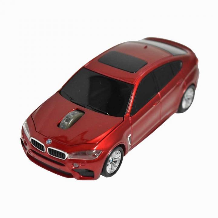 BMW X6シリーズ 無線カーマウス 2.4Ghz 1750dpi レッド_0