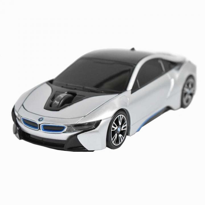 BMW i8シリーズ 無線カーマウス 2.4Ghz 1750dpi シルバー_0