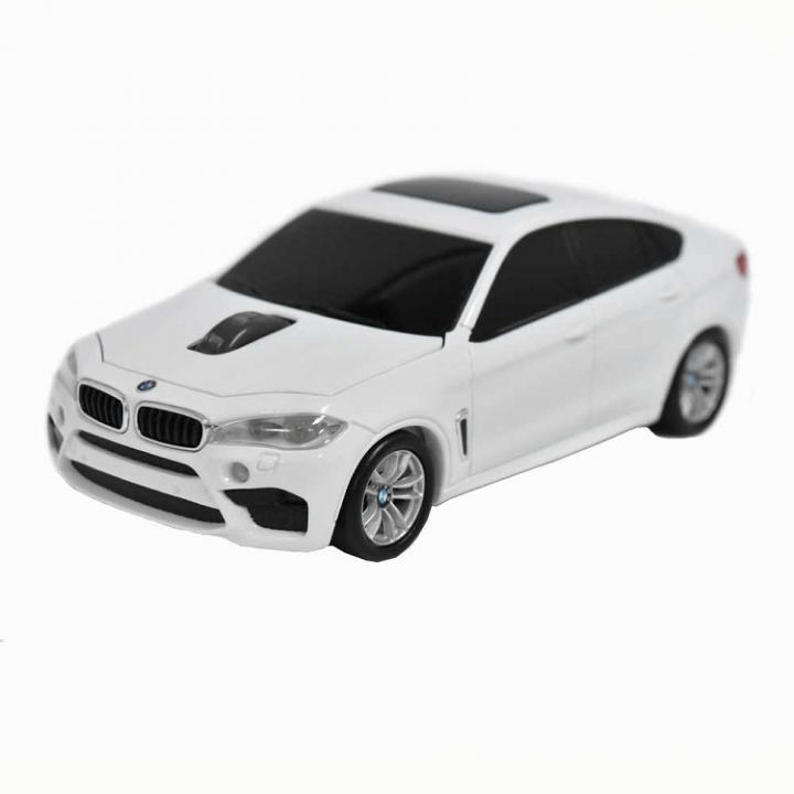 BMW X6シリーズ 無線カーマウス 2.4Ghz 1750dpi ホワイト_0