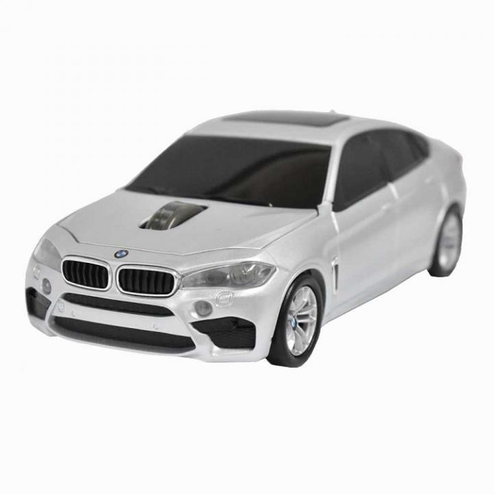 BMW X6シリーズ 無線カーマウス 2.4Ghz 1750dpi シルバー_0