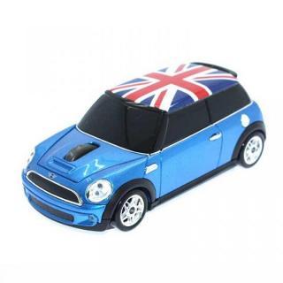 ミニクーパー Union Flag 無線マウス 2.4G ブルー