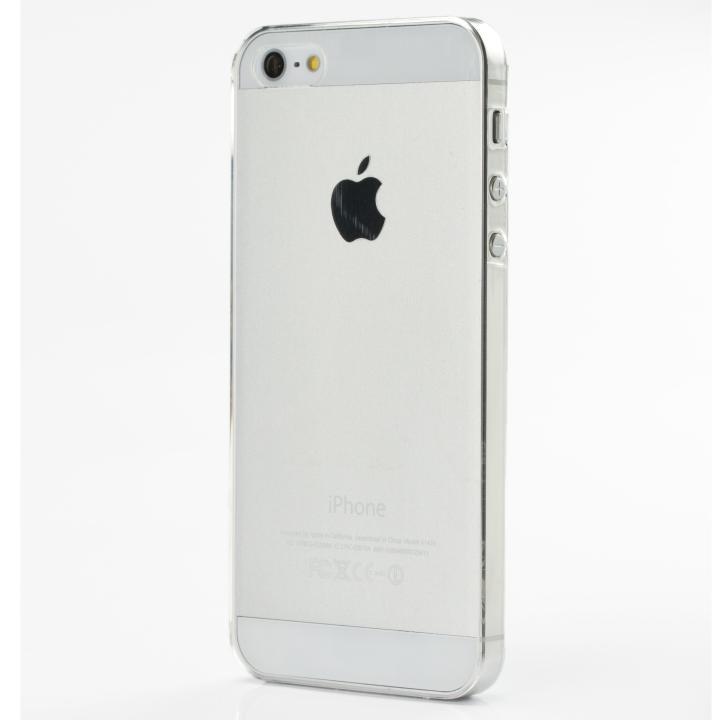 iPhone SE/5s/5 ケース 軽い・薄い・安い Helium133 ポリカーボネート iPhone SE/5s/5 ケース クリア_0