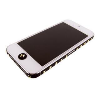 iPhone SE/5s/5 ケース iPhone SE/5s/5 デコラップ スタッズブラック