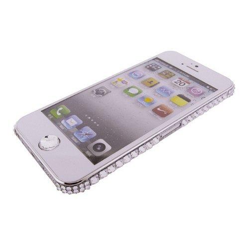 【iPhone SE/5s/5ケース】iPhone SE/5s/5 デコラップ ストーンシルバー_0