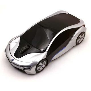 BMW i8 CONCEPT 無線カーマウス 2.4Ghz 1750dpi シルバー BM-i8-SL_3