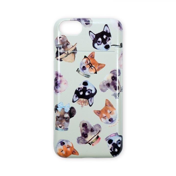 【iPhone8/7ケース】BANNER BARRETT ミラーケース STYLISH DOG GREEN iPhone 8/7_0
