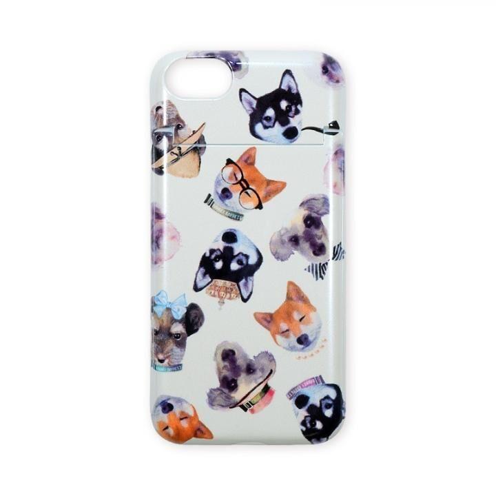 iPhone8/7 ケース BANNER BARRETT ミラーケース STYLISH DOG YELLOW iPhone 8/7_0