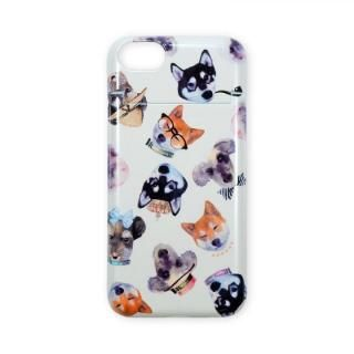 iPhone8/7 ケース BANNER BARRETT ミラーケース STYLISH DOG YELLOW iPhone 8/7