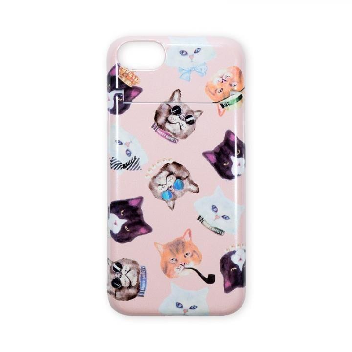 【iPhone8/7ケース】BANNER BARRETT ミラーケース GANGSTER CAT PINK iPhone 8/7_0