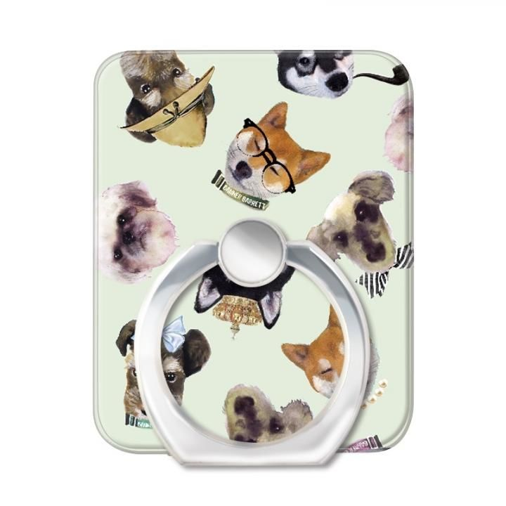 BANNER BARRETT スマートフォンリング STYLISH DOG GREEN_0