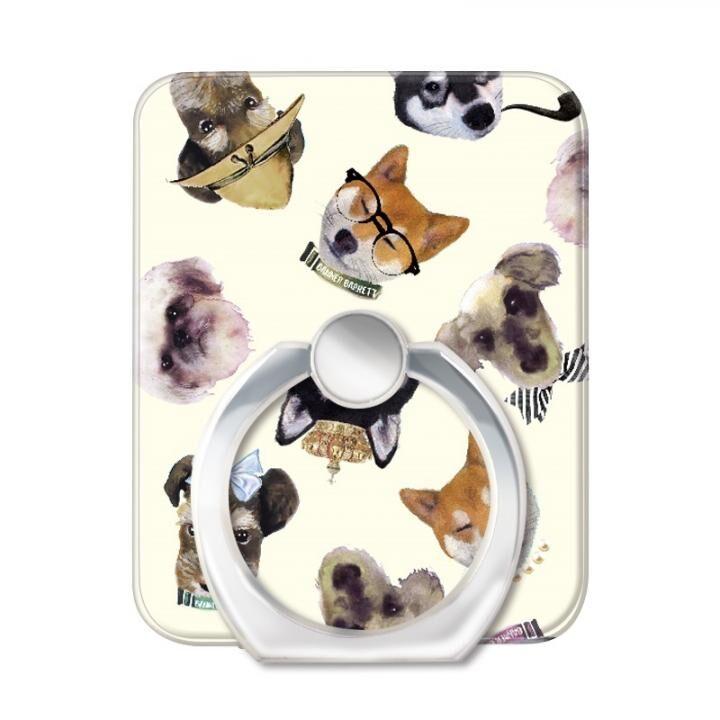 BANNER BARRETT スマートフォンリング STYLISH DOG YELLOW_0