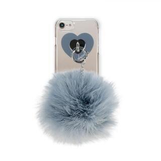 iPhone8/7/6s/6 ケース dazzlin FUR クリアケース  VINTAGE GRAY iPhone 8/7/6s/6【11月下旬】