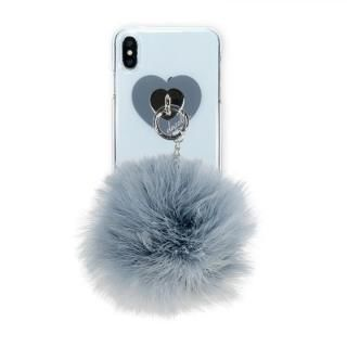 iPhone XS Max ケース dazzlin FUR クリアケース  VINTAGE GRAY  iPhone XS Max【3月下旬】