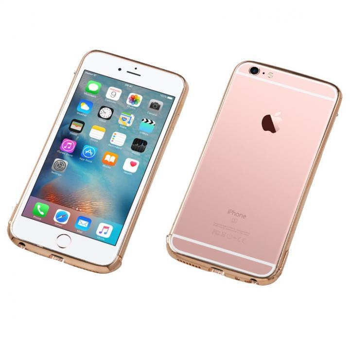 iPhone6s/6 ケース Deff ステンレススチールバンパー Polish ローズゴールド iPhone 6s/6_0