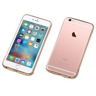 iPhone6s Plus/6 Plus ケース Deff ステンレススチールバンパー Polish ローズゴールド iPhone 6s Plus/6 Plus