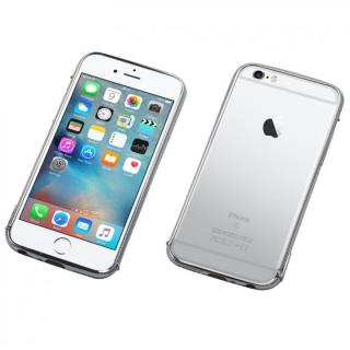 Deff ステンレススチールバンパー Polish シルバー iPhone 6s Plus/6 Plus
