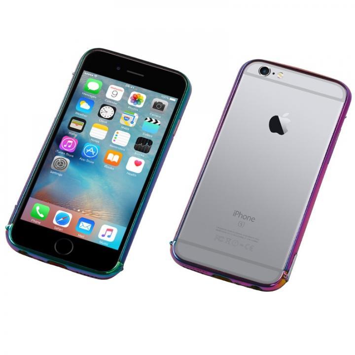 [2018新生活応援特価]Deff ステンレススチールバンパー Polish ジュエルビートル iPhone 6s Plus/6 Plus