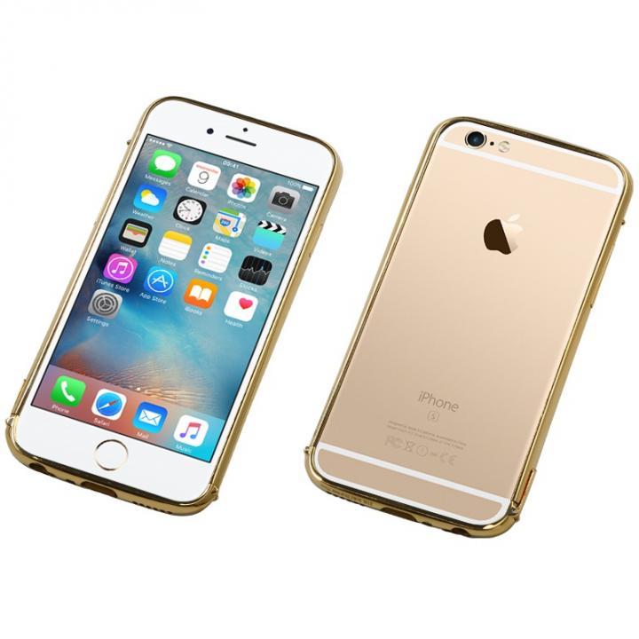 Deff ステンレススチールバンパー Polish ゴールド iPhone 6s Plus/6 Plus