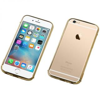 iPhone6s Plus/6 Plus ケース Deff ステンレススチールバンパー Polish ゴールド iPhone 6s Plus/6 Plus