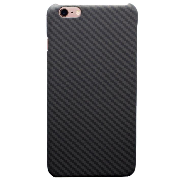 【iPhone6s/6ケース】Deff monCarbone HoverKoat ステルス ブラック iPhone 6s/6_0