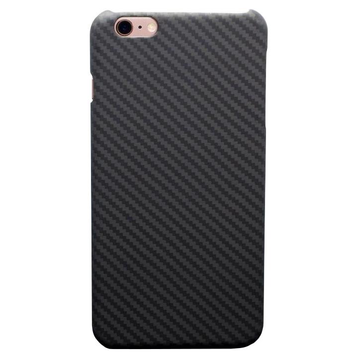 【iPhone6s Plus/6 Plusケース】Deff monCarbone HoverKoat ステルス ブラック iPhone 6s Plus/6 Plus_0