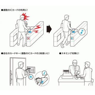 ICカード電磁波干渉防止シート PERFECT GUARD II_3
