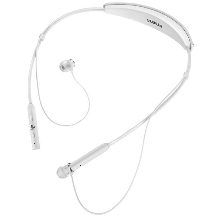 ワイヤレスネックバンドイヤフォン(ボリューム/マイク付)「極の音域 Fly Wear(フライ ウェア)」 ホワイト_0