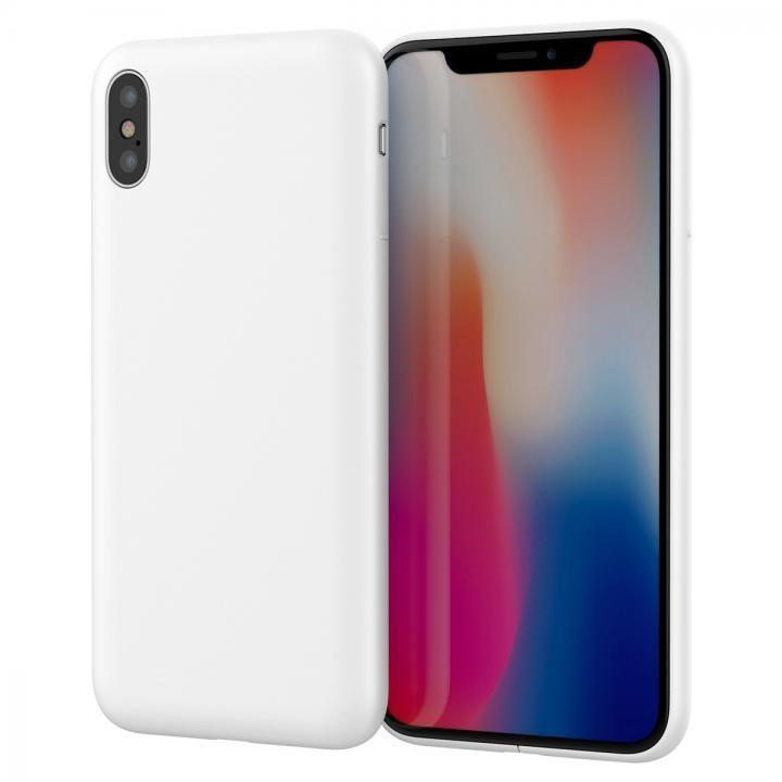 【iPhone Xケース】MYNUS ケース マットホワイト iPhone X_0