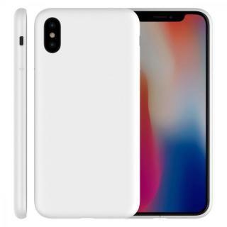 【iPhone Xケース】MYNUS ケース マットホワイト iPhone X_1