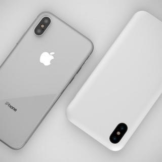 【iPhone Xケース】MYNUS ケース マットホワイト iPhone X_3