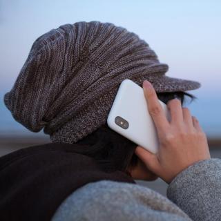 【iPhone Xケース】MYNUS ケース マットホワイト iPhone X_4