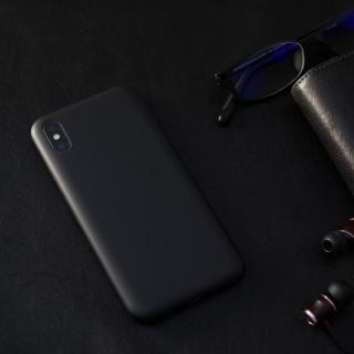 【iPhone Xケース】MYNUS ケース マットブラック iPhone X_4