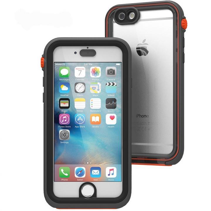 iPhone6s/6 ケース Catalyst(カタリスト) 完全防水ケース CT-WPIP154  ブラックオレンジ iPhone 6s/6_0