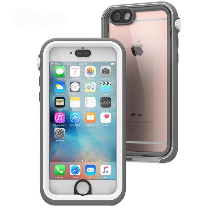 iPhone6s/6 ケース Catalyst(カタリスト) 完全防水ケース CT-WPIP154  ホワイト iPhone 6s/6_0