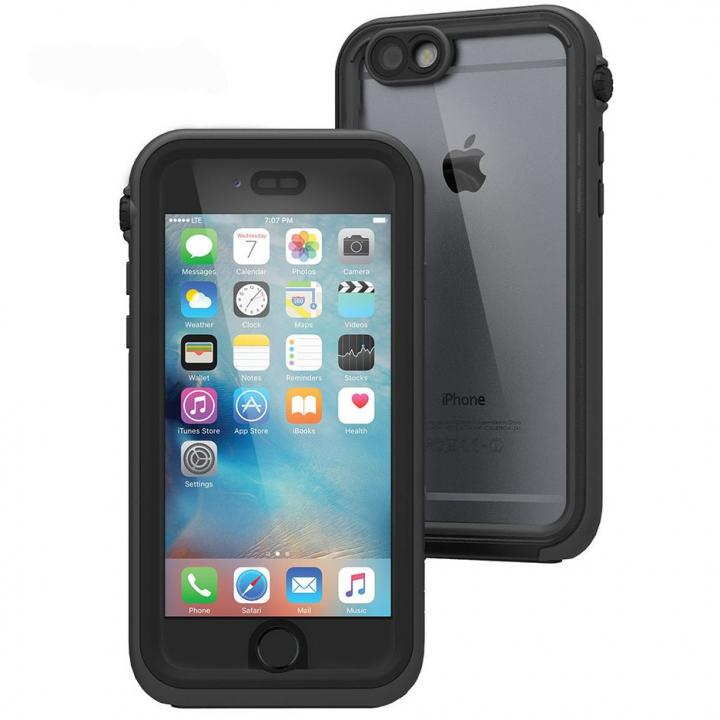 【iPhone6s/6ケース】Catalyst(カタリスト) 完全防水ケース CT-WPIP154  ブラック iPhone 6s/6_0