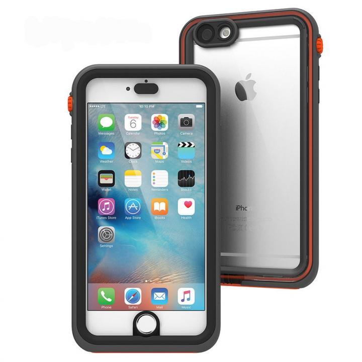 iPhone6s Plus/6 Plus ケース Catalyst(カタリスト) 完全防水ケース CT-WPIP155  ブラックオレンジ iPhone 6s Plus/6 Plus_0