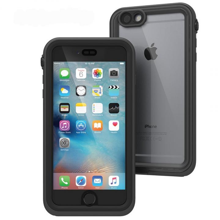iPhone6s Plus/6 Plus ケース Catalyst(カタリスト) 完全防水ケース CT-WPIP155  ブラック iPhone 6s Plus/6 Plus_0