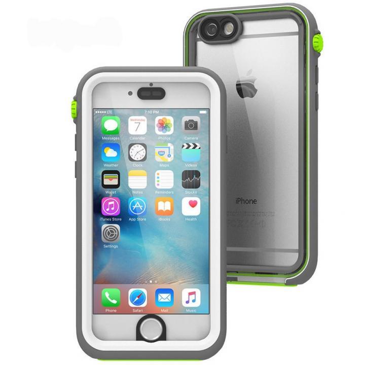 Touch ID対応完全防水ケース カタリスト ホワイトグリーン iPhone 6s/6