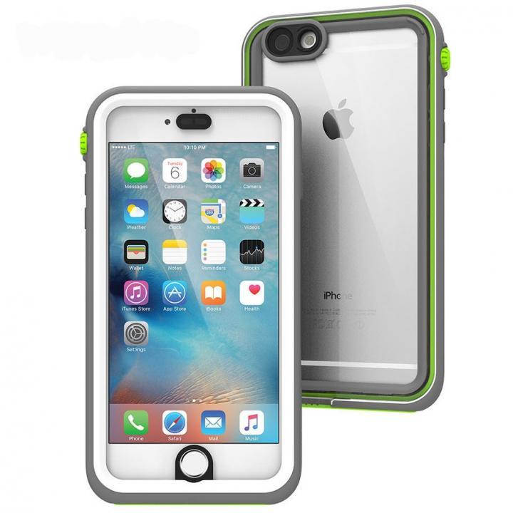 iPhone6s Plus/6 Plus ケース Catalyst(カタリスト) 完全防水ケース CT-WPIP155  ホワイトグリーン iPhone 6s Plus/6 Plus_0