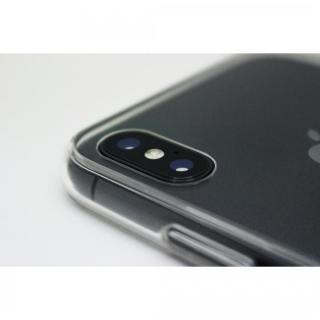 【iPhone X/XSケース】A+ 背面強化ガラス×TPUハイブリッドケース Clear Panel Case for iPhone XS/iPhone X_7